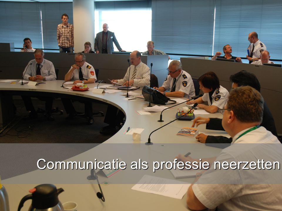 www.burgemeesters.nl Communicatie als professie neerzetten