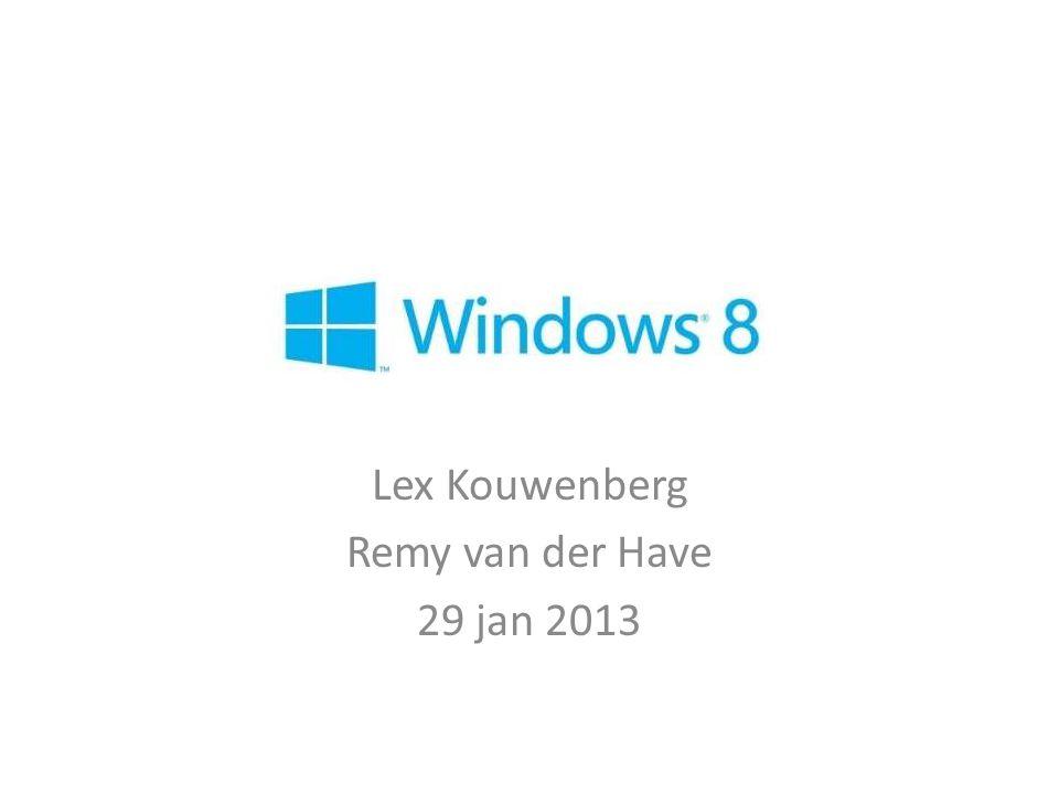 Lex Kouwenberg Remy van der Have 29 jan 2013