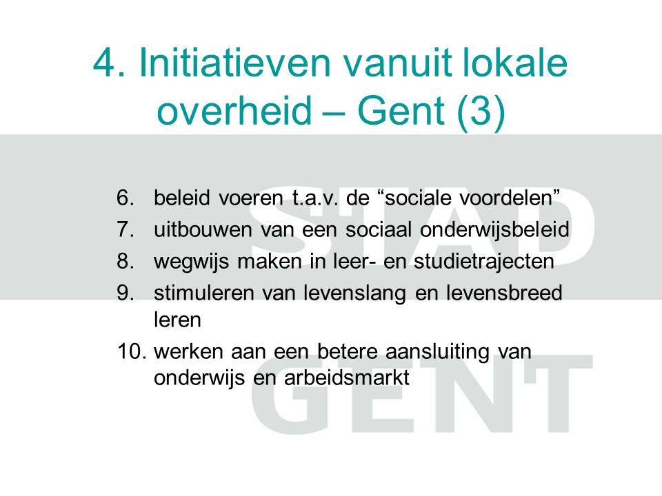 4.Initiatieven vanuit lokale overheid – Gent (4) FLOB cfr.