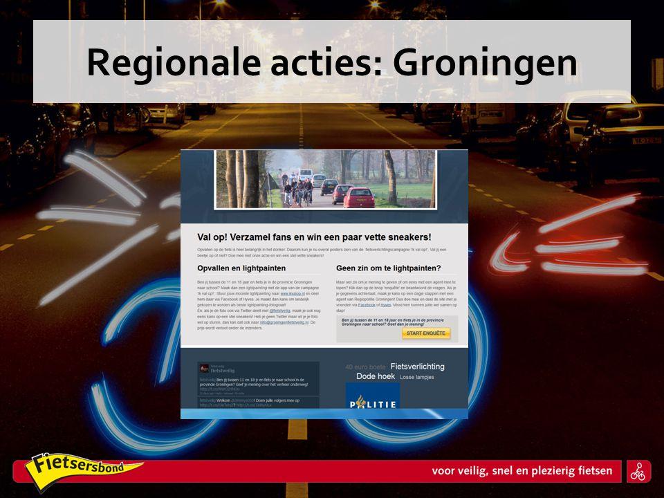 Regionale acties: Groningen