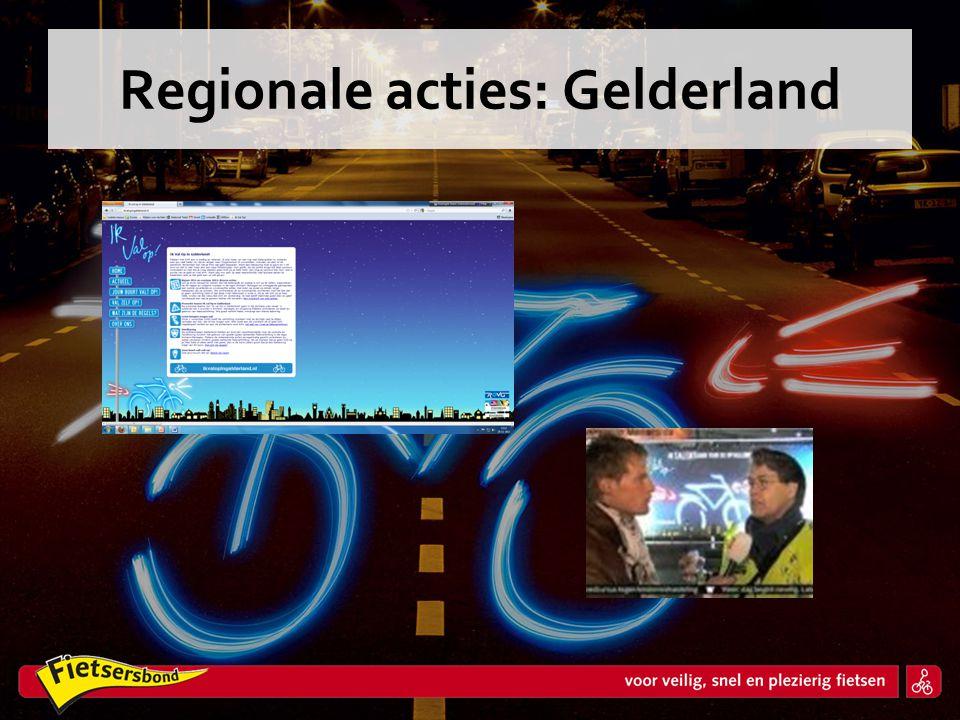 Regionale acties: Gelderland