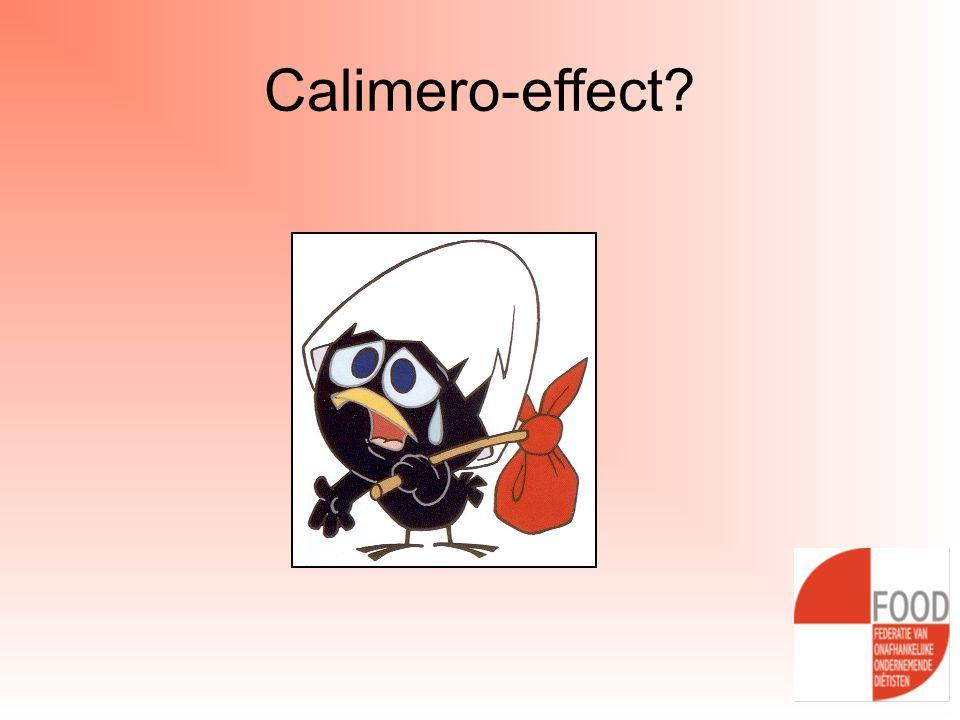 Calimero-effect?