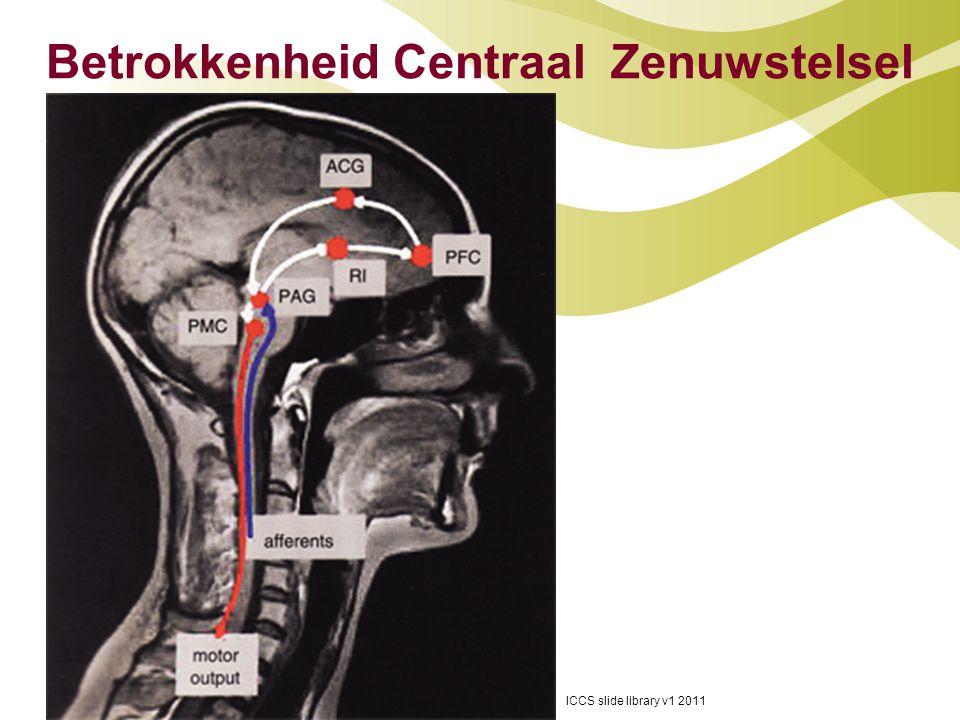 Betrokkenheid Centraal Zenuwstelsel ICCS slide library v1 2011 6