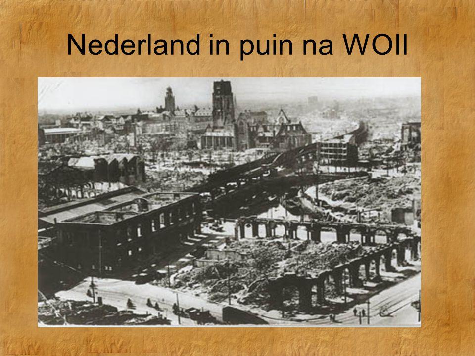 De Koude Oorlog Nederland in puin na WOII