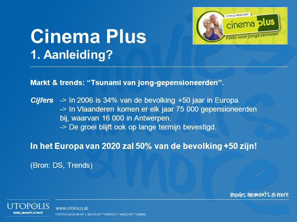 """Markt & trends: """"Tsunami van jong-gepensioneerden"""". Cijfers -> In 2006 is 34% van de bevolking +50 jaar in Europa. -> In Vlaanderen komen er elk jaar"""