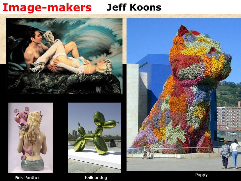 Image-makers Puppy BalloondogPink Panther Jeff Koons