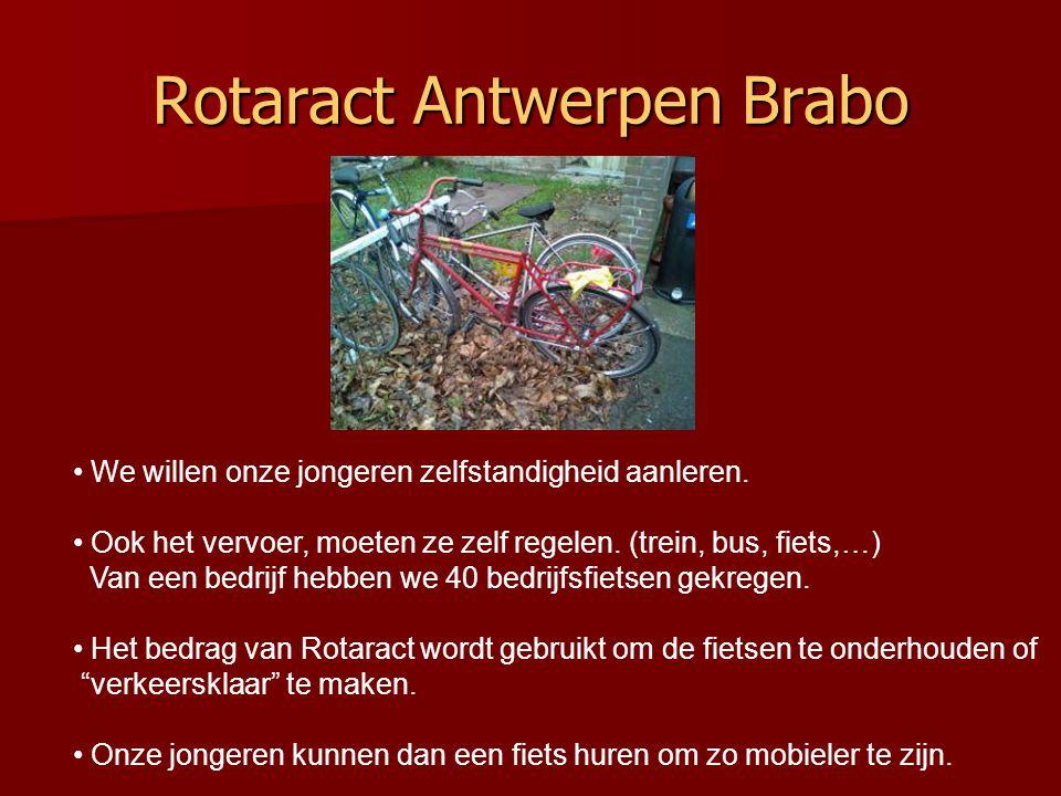 Rotaract Antwerpen Brabo • We willen onze jongeren zelfstandigheid aanleren.