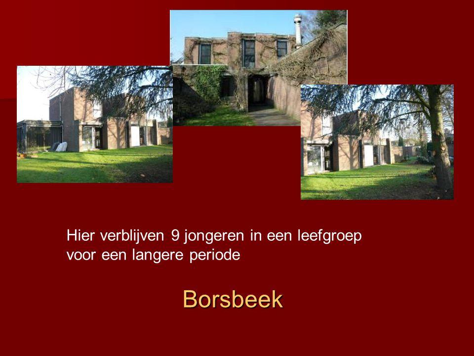 Wommelgem In het opvangcentrum in Wommelgem verblijven 10 jongeren in een leefgroep in studiovorm.