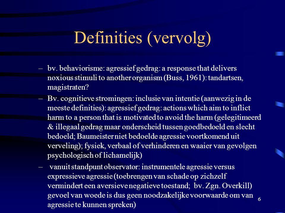 37 Sociaal psychologische perspectieven (cfr.Prof.
