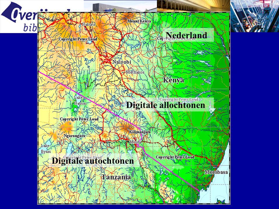 Nederland Digitale autochtonen Digitale allochtonen