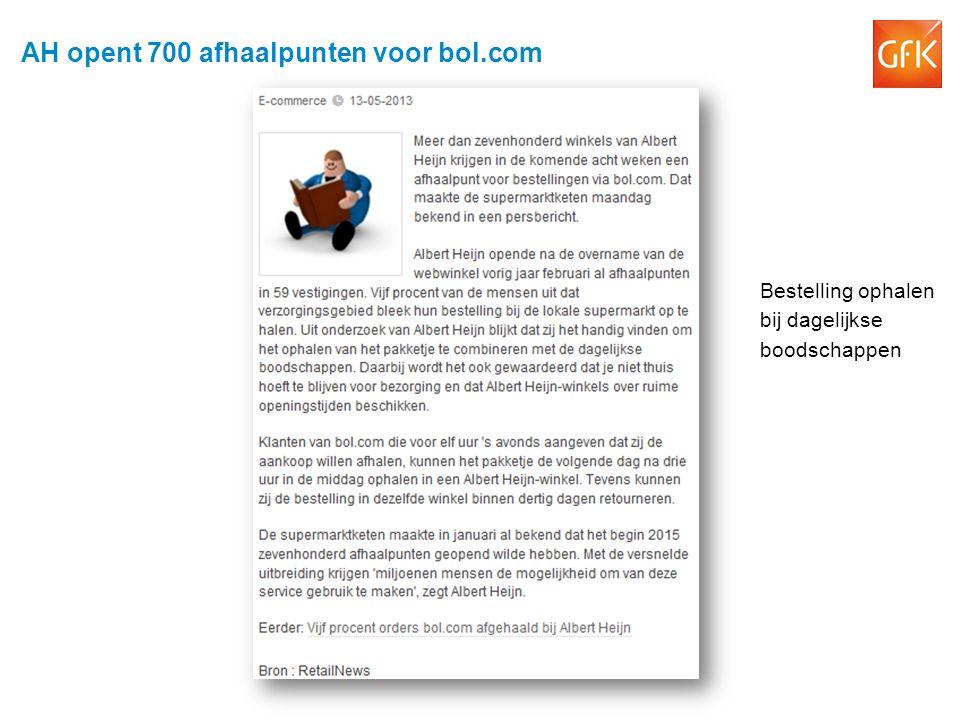 AH opent 700 afhaalpunten voor bol.com Bestelling ophalen bij dagelijkse boodschappen