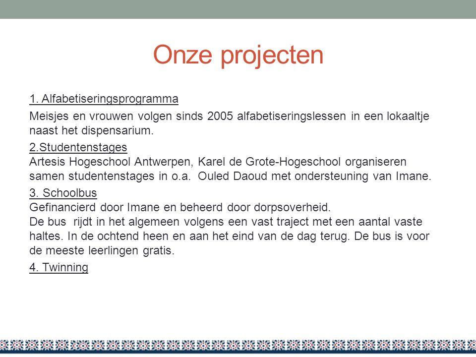 Onze projecten 1.