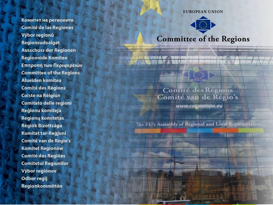 Waarom een Comité van de Regio's.