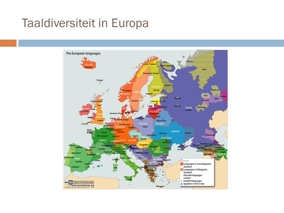 Taaldiversiteit in Europa