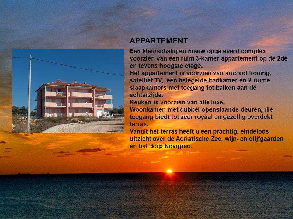 APPARTEMENT Een kleinschalig en nieuw opgeleverd complex voorzien van een ruim 3-kamer appartement op de 2de en tevens hoogste etage.