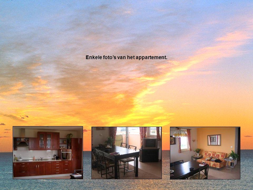 Enkele foto's van het appartement.