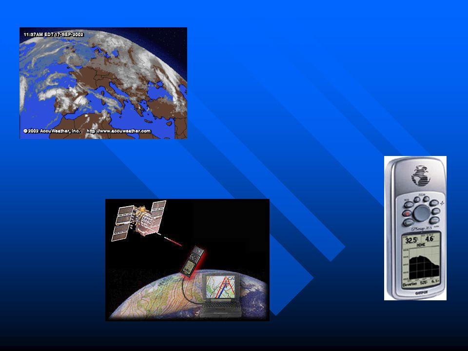 Werking  Plaatsbepaling; gebruik van een 24-tal satellieten.( Embedded system )  Zenden continu uniek G.P.S. signaal.  Speciale GPS-ontvanger, bere