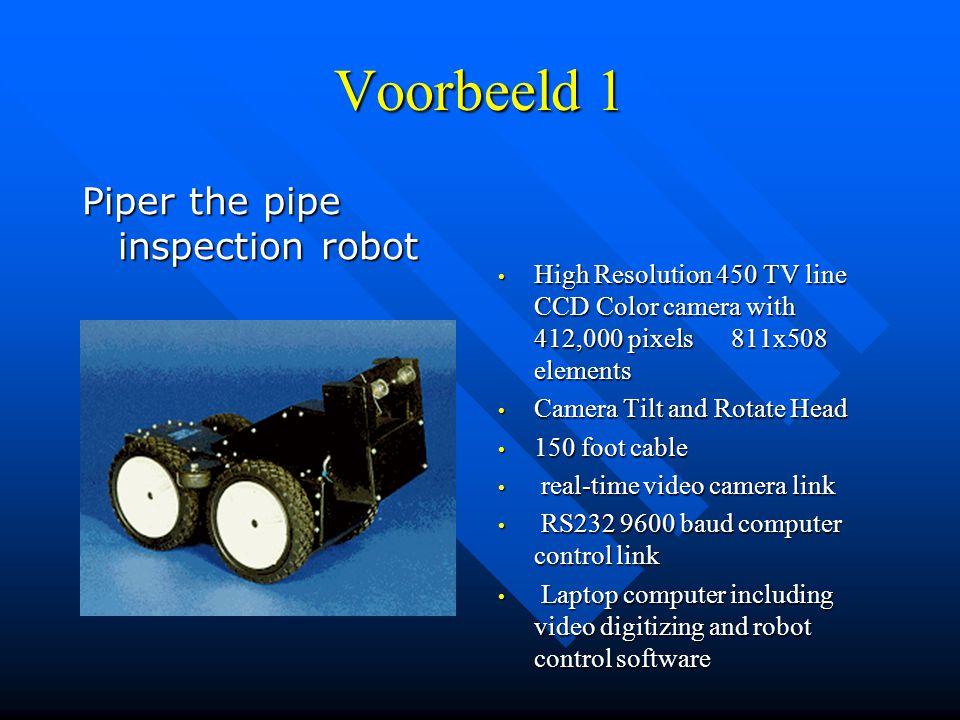 Industriële robots bestaan uit:  sensoren  effectors  aandrijvingen  processors (controllers)  armen  veel robots hebben ook nog kunstmatige int