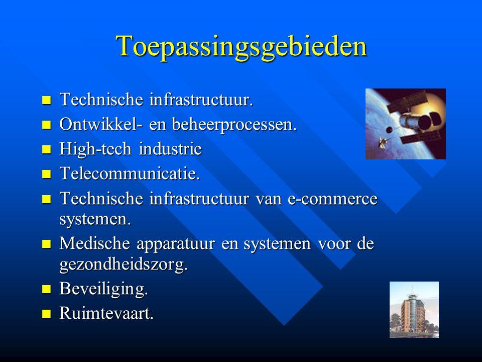 Toepassingsgebieden  Technische infrastructuur. Ontwikkel- en beheerprocessen.