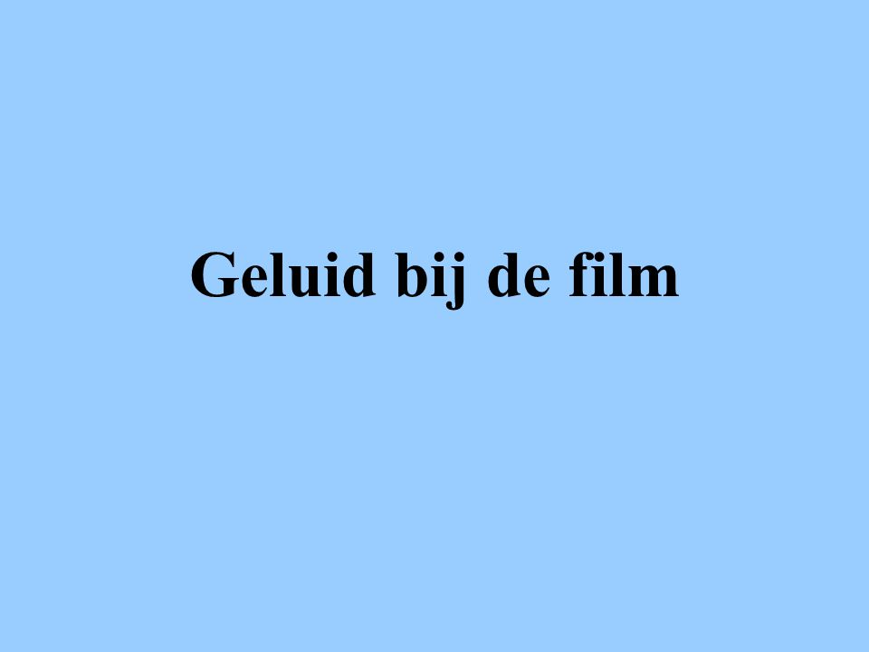FilmsoortSFEER VAN DE MUZIEK Actie Zeer levendig opzwepend AnimatieKan van alles zijn.