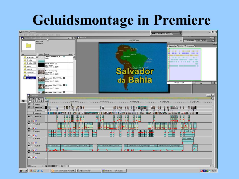 Geluidsmontage in Premiere
