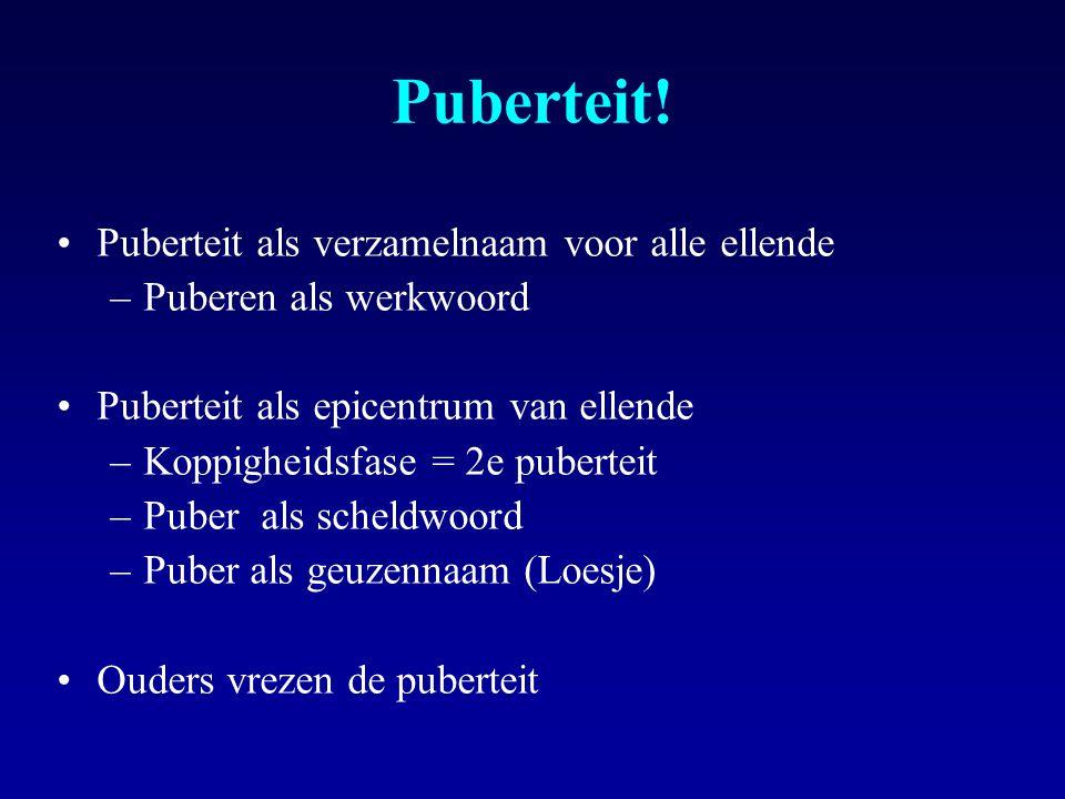 Puberteit.