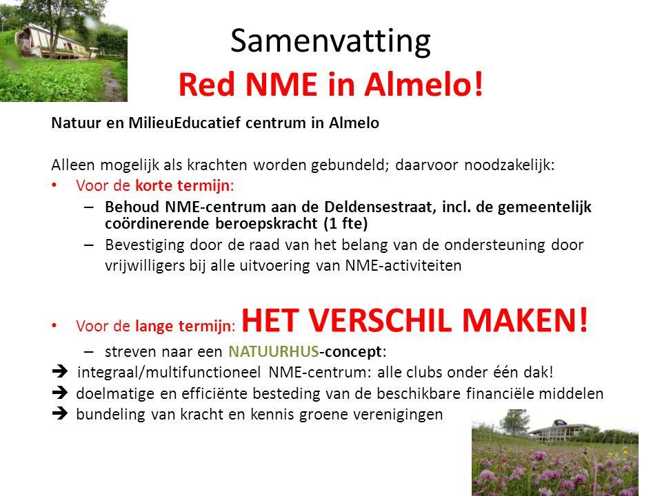 Samenvatting Red NME in Almelo.