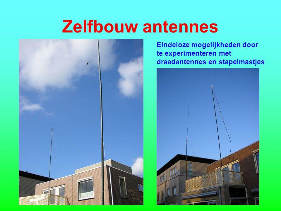 Zelfbouw antennes Eindeloze mogelijkheden door te experimenteren met draadantennes en stapelmastjes