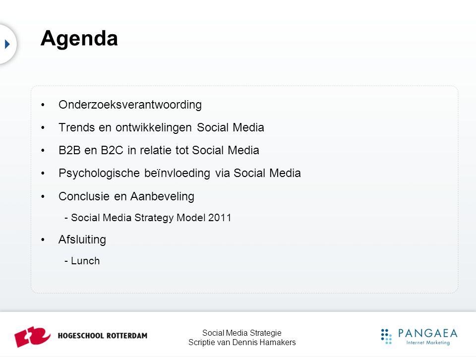 Social Media Strategie Scriptie van Dennis Hamakers 3.