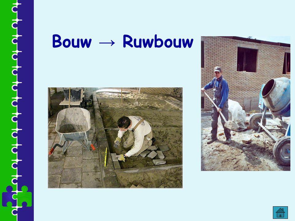 Bouw → Ruwbouw