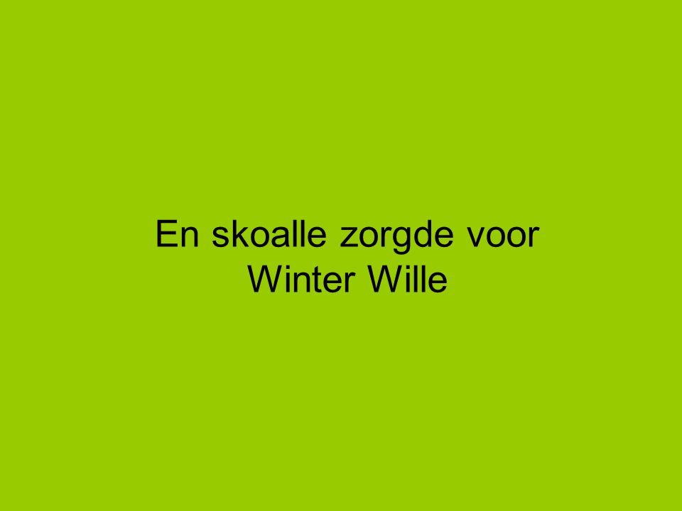 En skoalle zorgde voor Winter Wille