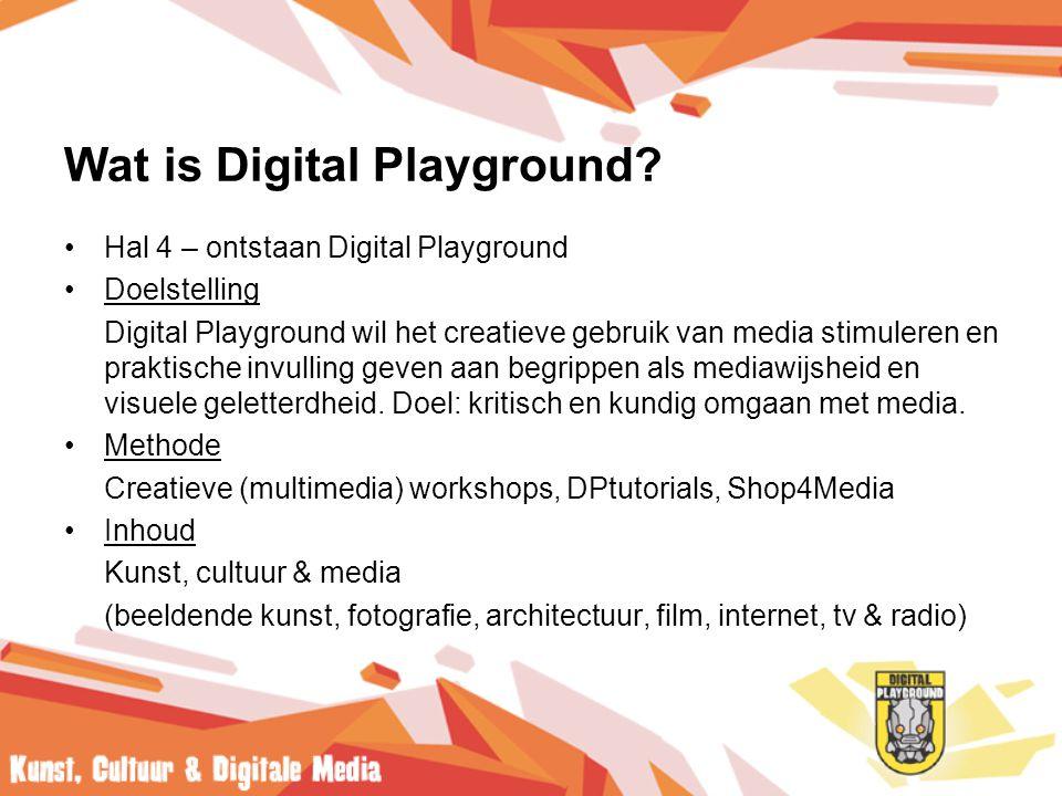 Wat is Digital Playground.