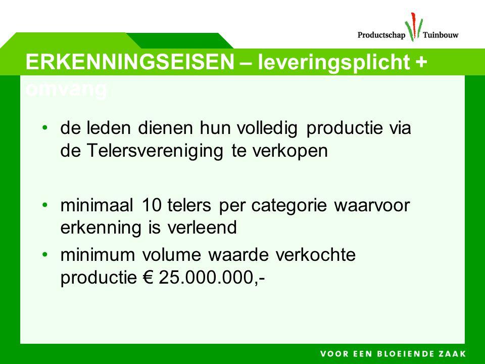 Oorsprong van de GMO •Subsidie voor projecten/activiteiten: •Kwaliteitsgericht •Vergroting afzet.