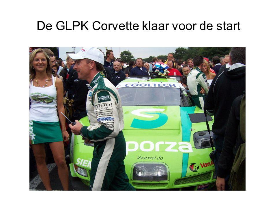 De GLPK Corvette klaar voor de start