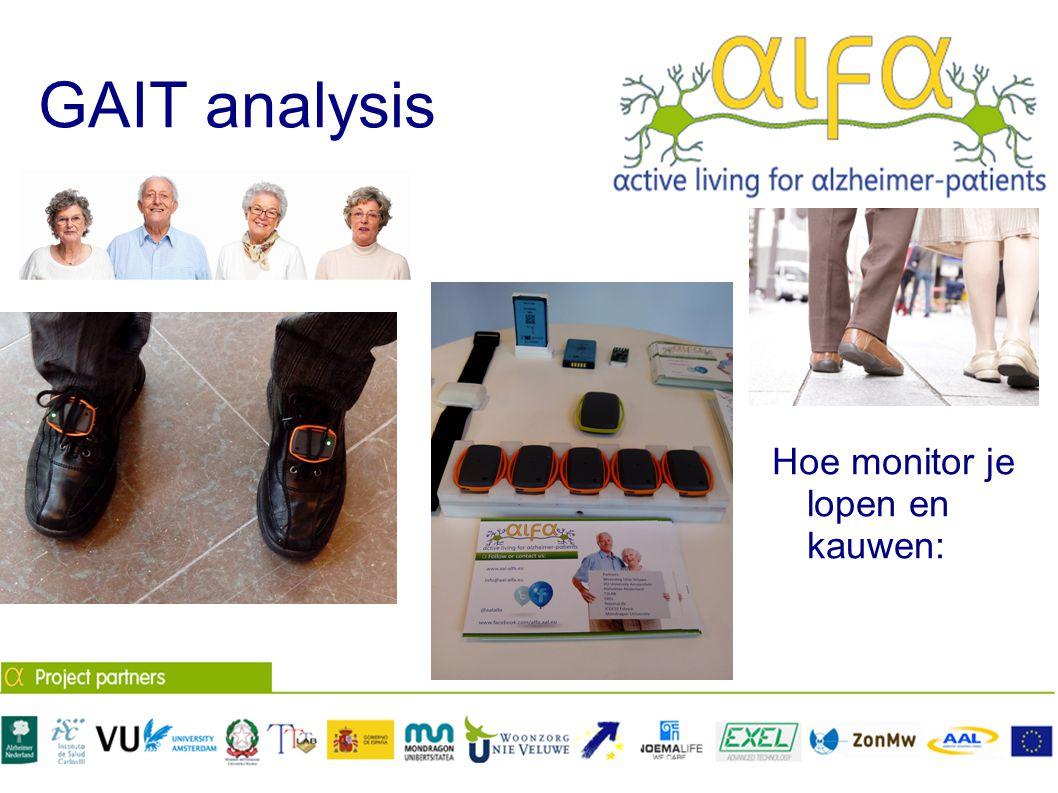 GAIT analysis Hoe monitor je lopen en kauwen: