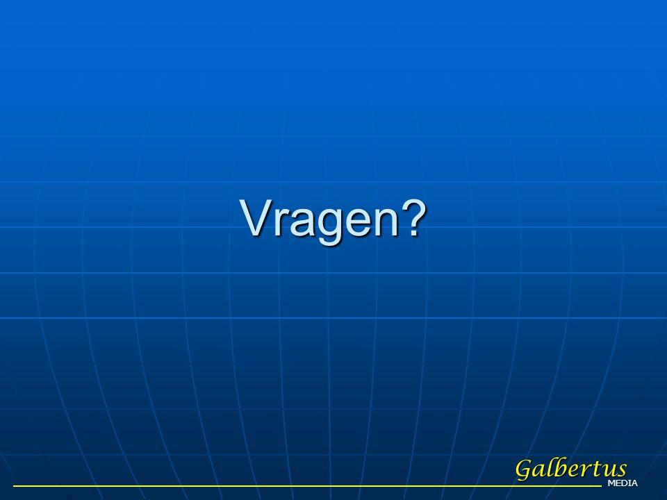 Vragen? Galbertus