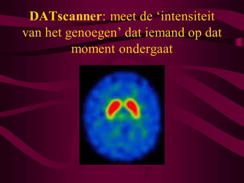 DATscanner: meet de 'intensiteit van het genoegen' dat iemand op dat moment ondergaat