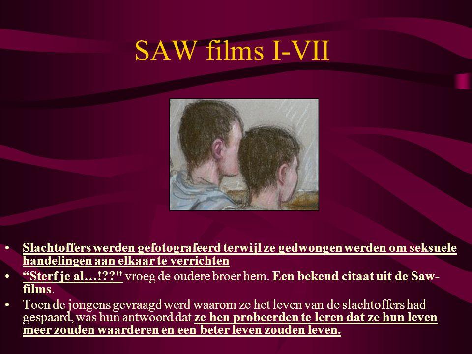 """•Slachtoffers werden gefotografeerd terwijl ze gedwongen werden om seksuele handelingen aan elkaar te verrichten •""""Sterf je al…!??"""