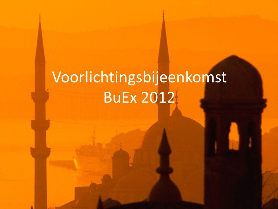 Voorlichtingsbijeenkomst BuEx 2012