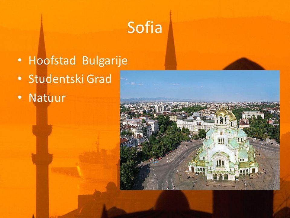 Sofia • Hoofstad Bulgarije • Studentski Grad • Natuur