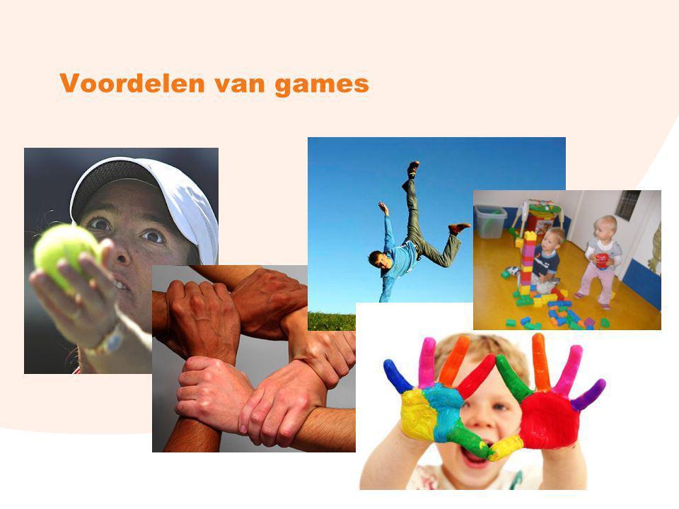 Voordelen van games