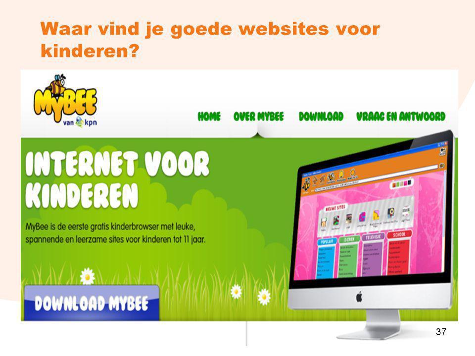 Waar vind je goede websites voor kinderen? 37