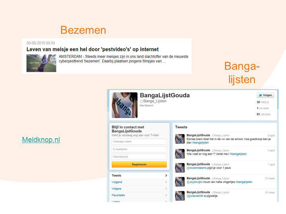 45 Bezemen Banga- lijsten Meldknop.nl