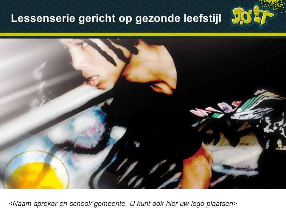 Gezonde leefstijl DOiT-programma Aan de slag op school www.doitproject.com Inhoud presentatie