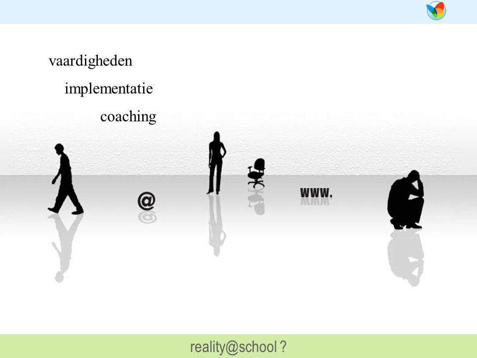 vaardigheden implementatie coaching reality@school ?