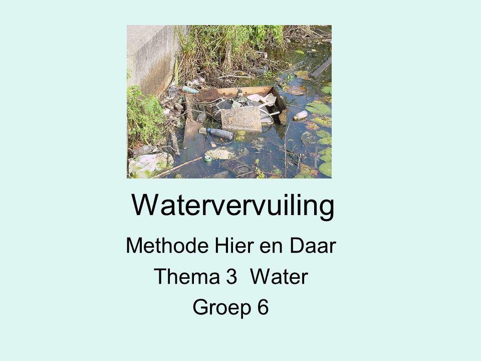 Watervervuiling Methode Hier en Daar Thema 3 Water Groep 6