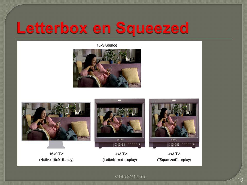 VIDEOOM 2010 10 Een letterbox film op een 4x3 scherm