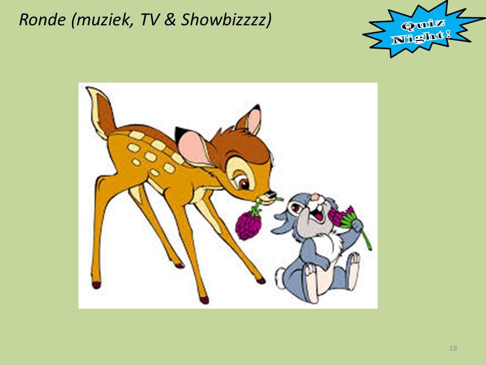 Ronde (muziek, TV & Showbizzzz) 18