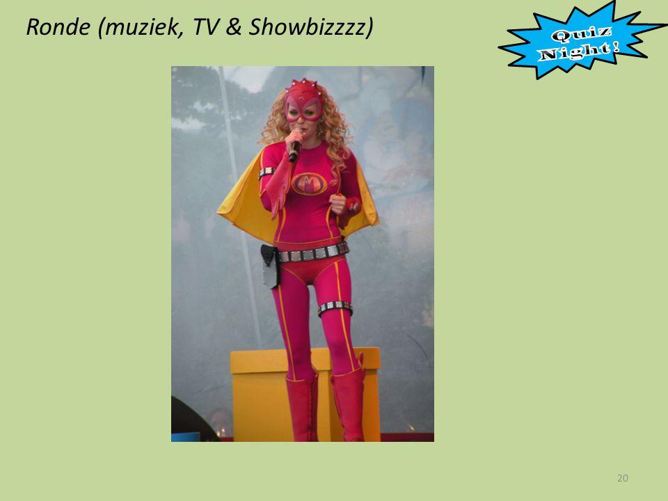 Ronde (muziek, TV & Showbizzzz) 20