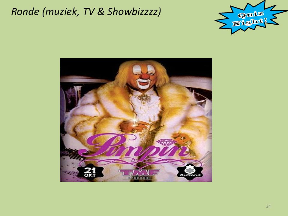 Ronde (muziek, TV & Showbizzzz) 24